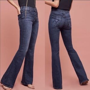 MOTHER Pixie Cruiser Twilight Magic Flare Jeans